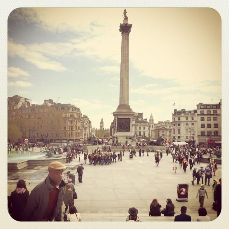 Nelsons Column , London