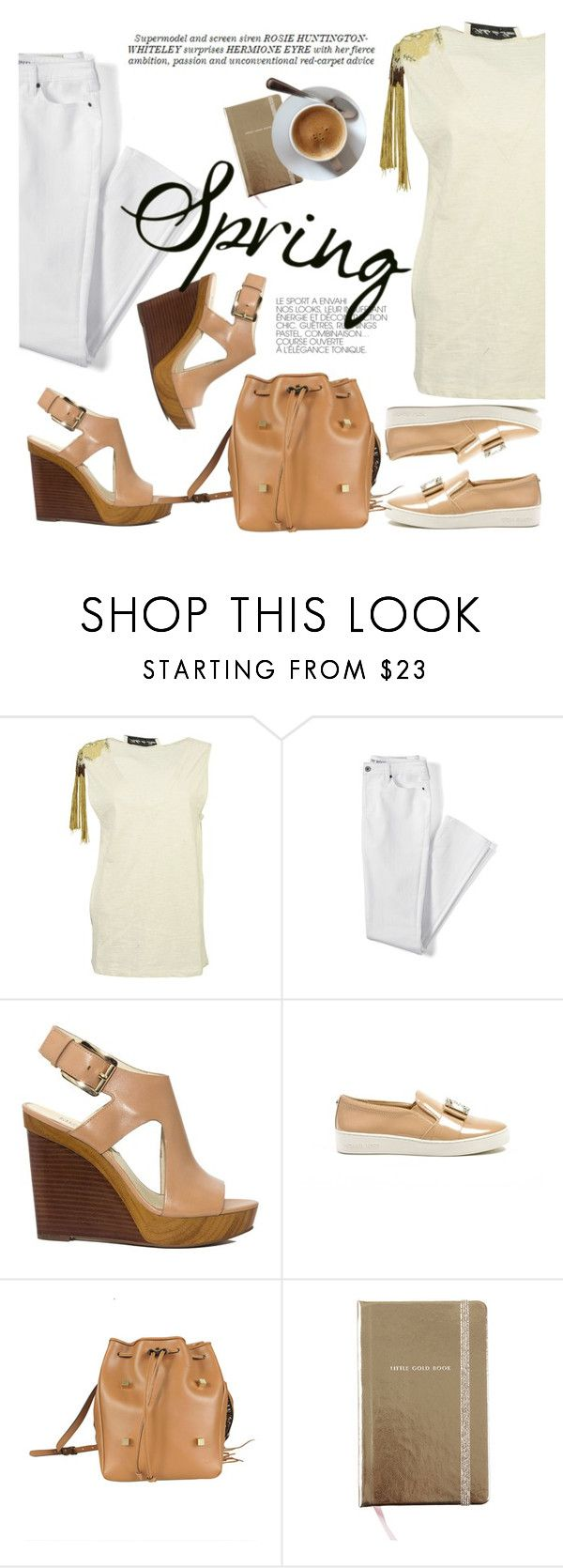 """""""Spring Day to Night"""" by italist ❤ liked on Polyvore featuring Soho de Luxe, Lands' End, Michael Kors, Manurina, Whiteley and Kate Spade"""