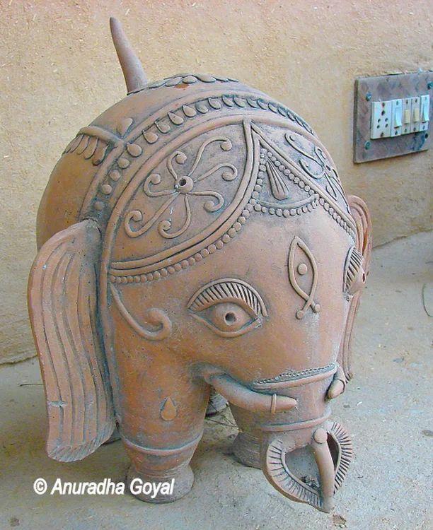 Anandgram: Sanskriti Museum of Terracotta, Everyday Art & Textiles | Inditales