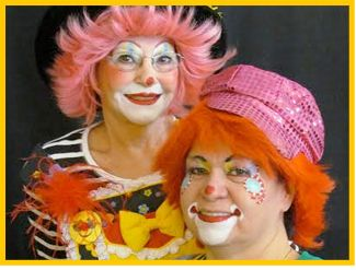 Clowns for Hire Kids Birthday Children Party Entertainment in Corona and Riverside, California