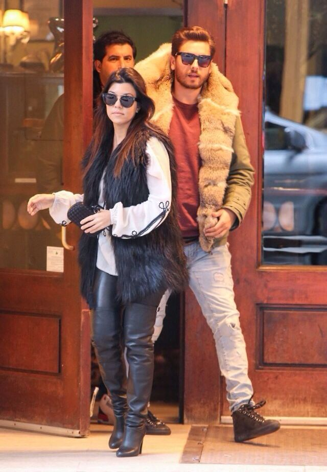 Scot Disick, fashion icon. That's a simple and well put together outfit.