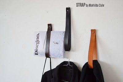 leather hangers