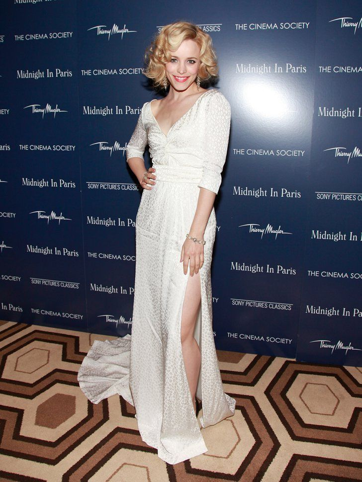 Pin for Later: 33 Times You Felt Really, Really Jealous of Rachel McAdams When She Expertly Showed Off a Little Leg
