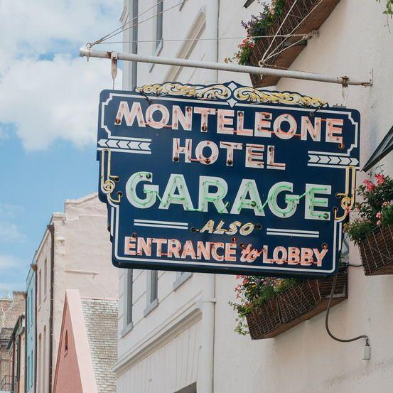From all angles, Hotel Monteleone amazes. #NewOrleans #NOLA