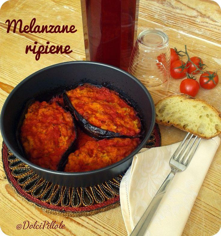 #Melanzane ripiene per un piatto speciale! #aubergine #italianfood