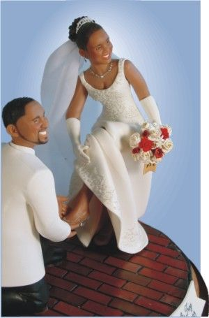 African American Cake Toppers For Wedding Cakes Cakepins