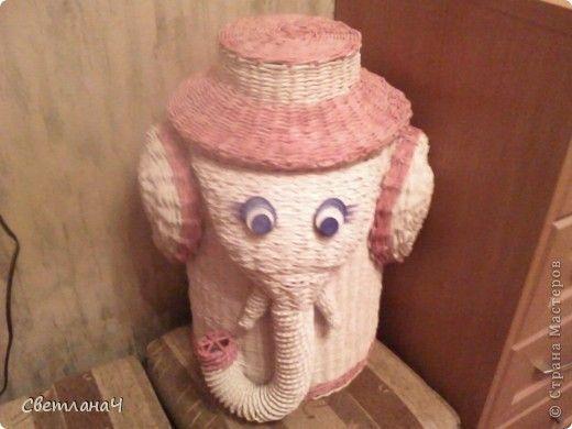Слон - короб под тапочки | Страна Мастеров