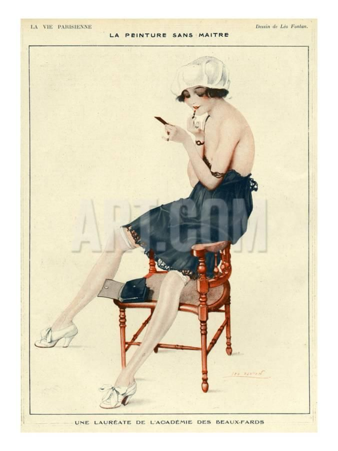 La Vie Parisienne, Leo Fontan, 1918, France Giclee Print at Art.co.uk