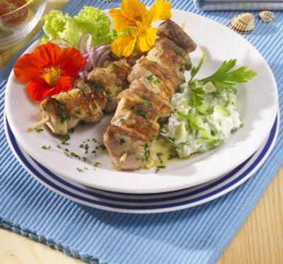 Řecký šiš kebab