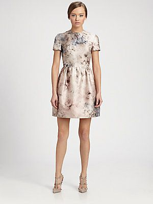 Valentino Floral Bumbalina Dress