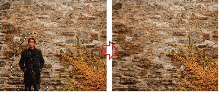 Photoshop CS5: Tartalom érzékeny kitöltés e-book