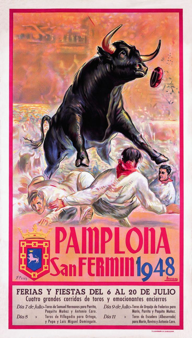 Pamplona.San Fermín 1.948.