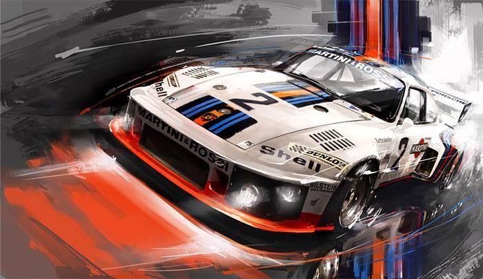 Nice Porsche rendering