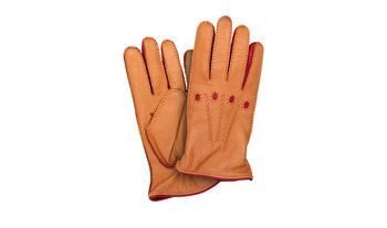 Shop men's Apollo gloves in light brown Deerskin. Explore the Scarosso collection.