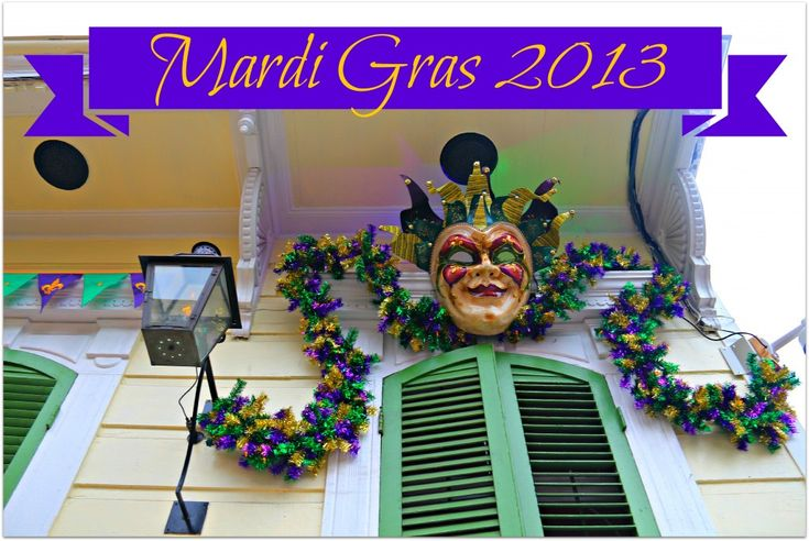 new orleans french quarter mardi gras | New Orleans Homes and Neighborhoods » Homes Decorate for Mardi Gras ...