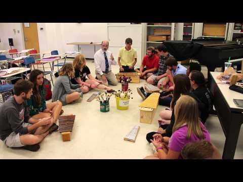 """Rob Amchin—University of Louisville—""""Copy Cat"""" Poem with Orff Instruments - YouTube"""