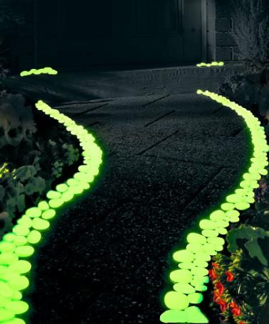Pebbles 'Glow in the Dark'   Garden Care from Spalding Bulb