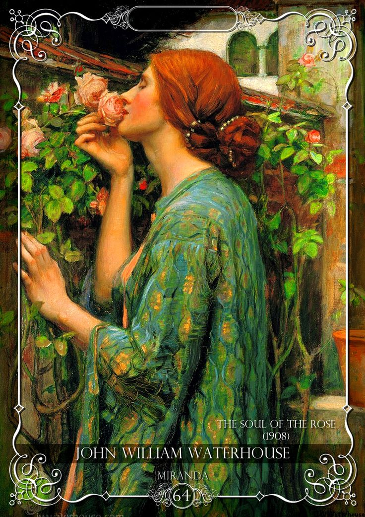"""Tribute on """"John William Waterhouse"""" in Miranda magazine  You can download the magazine free here:  https://www.facebook.com/groups/741118525962252/"""