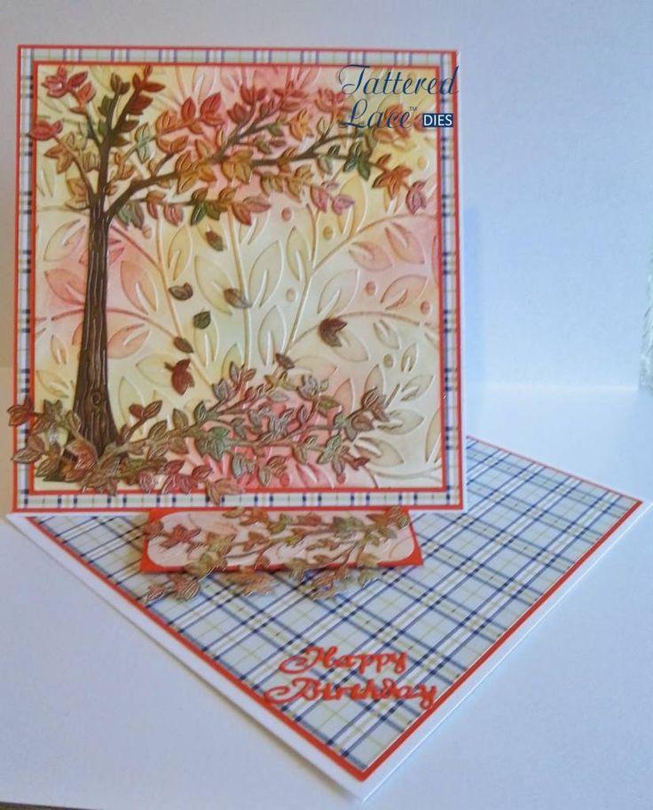 Tattered Lace Stanzschablone: Cherry Tree - Hobby-Crafts24.eu