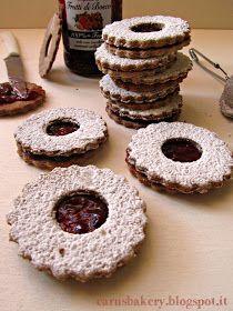 Caru's Bakery: Occhi di Bue con frolla integrale