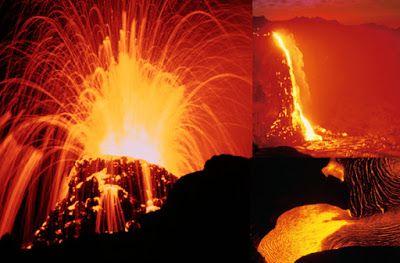 Il piacere di sapere che: Cosa provoca eruzioni vulcaniche