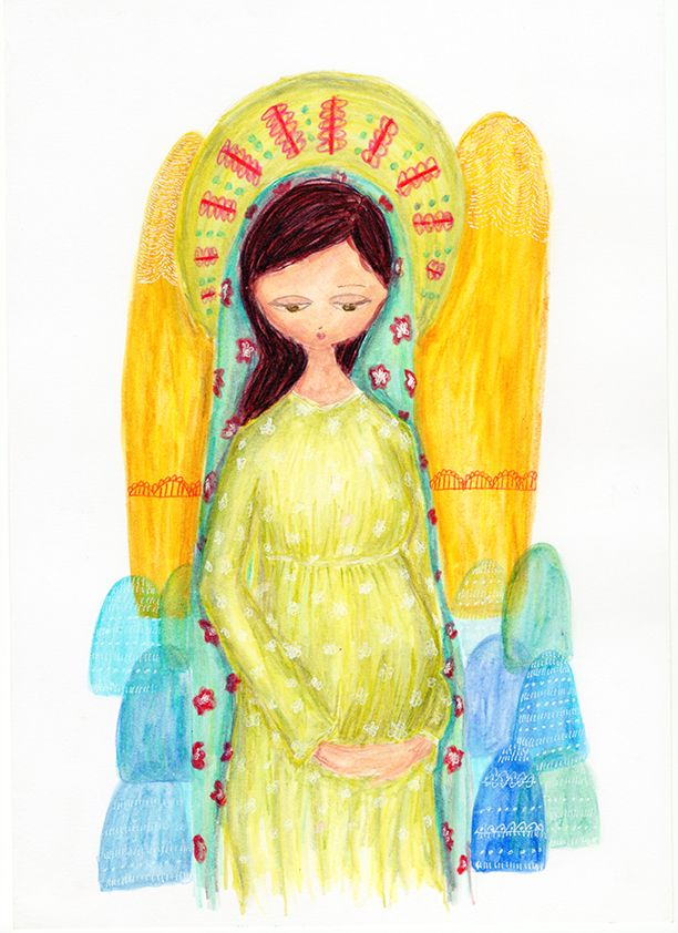 Virgen Dulce espera