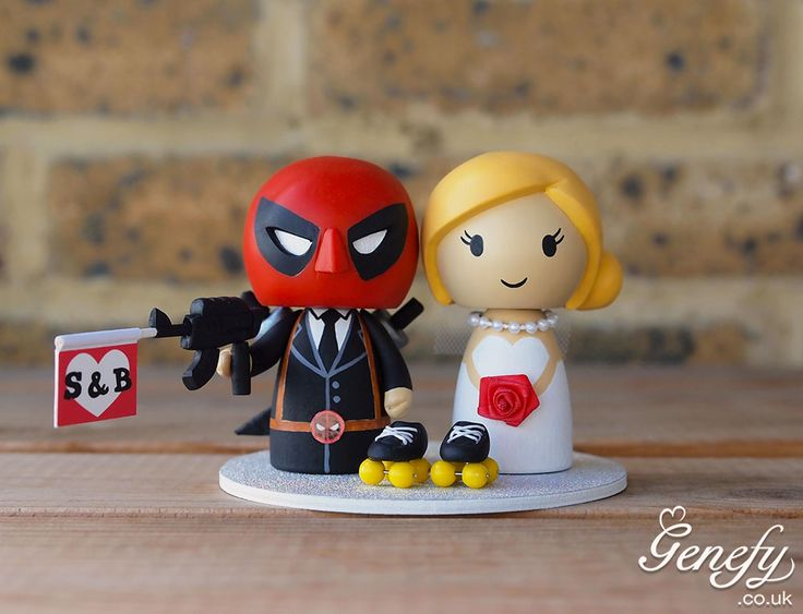 Deadpool Serenity Cake Topper