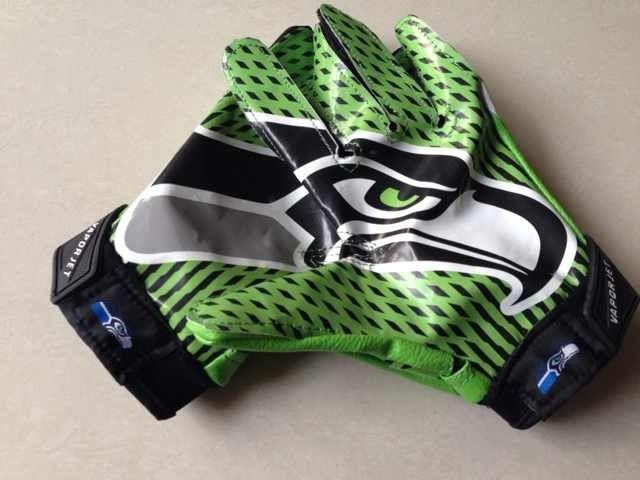 seahawks football gloves