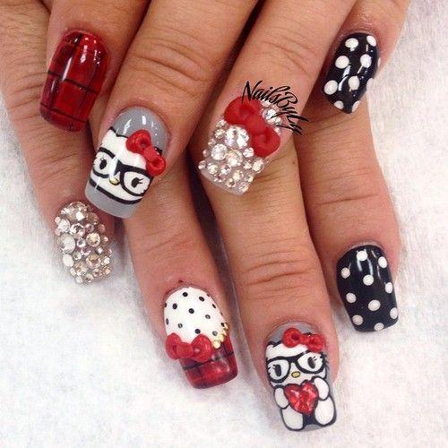 17 best images about pintando tus manos on pinterest diy - Modelos de unas pintadas ...