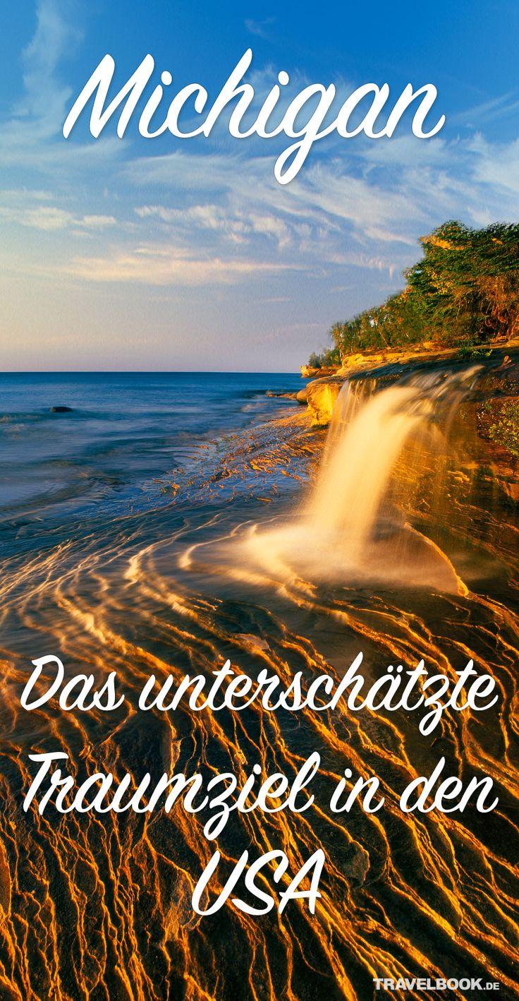 Michigans Upper Peninsula (Obere Halbinsel) ist als Reiseziel bei deutschen Urlaubern noch ein Geheimtipp. Dabei zählt die Region zu den schönsten der USA. Vor allem die Pictured Rocks National Lakeshore bietet eine Vielfalt an großen und kleinen Naturwundern.