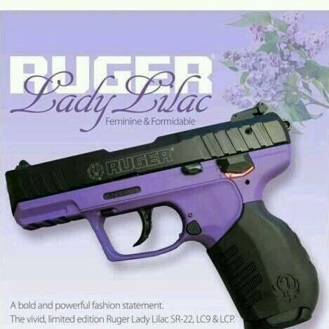 purple ruger SR22.  Would like this one for plinking :)