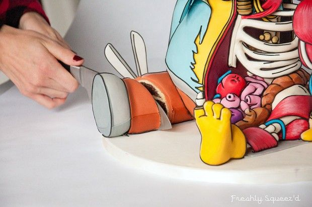 C'est un gateau !  Dissection de Ralph, des Simpsons par Kylie Mangles - Journal du Design