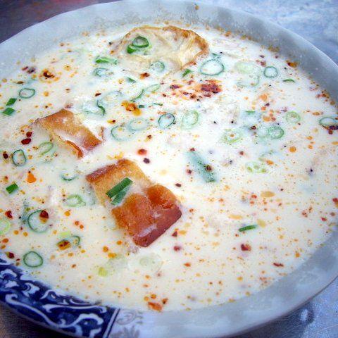 日本で作れる台湾料理: 鹹豆漿│塩豆乳スープ