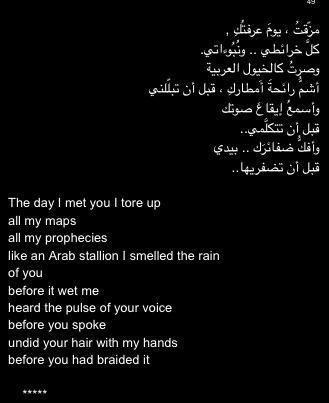 Nizar Qabbani poems