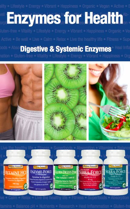 Enzymes for Health. Digestive & Systemic Enzymes.