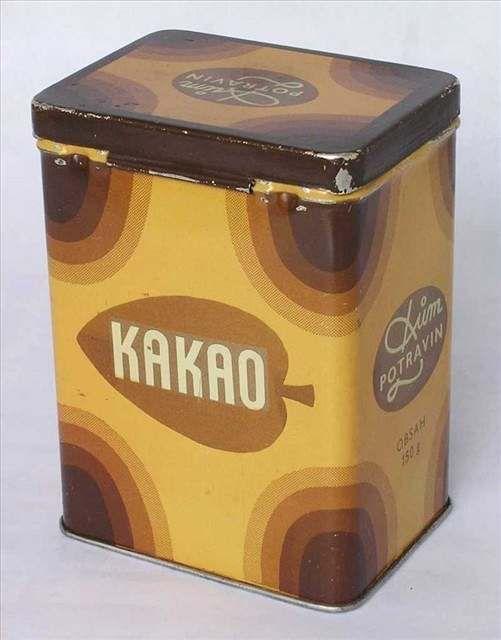 Kakao - Stopadesátigramové balení kakaa z Domu potravin