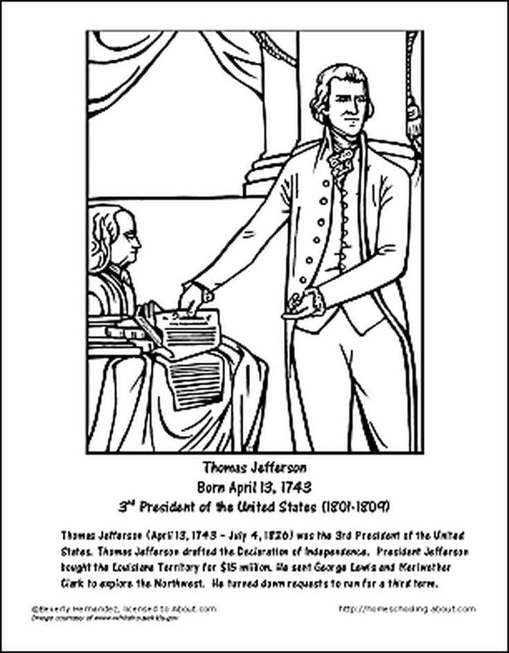 Thomas jefferson hope and heritage