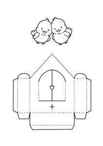 disegno casa passerotti