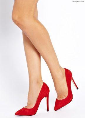 Zapatos 2018 Moda Zapatos Rojos Mujer de Moda Mujer Zapatos De De Rojos qUw40pqa