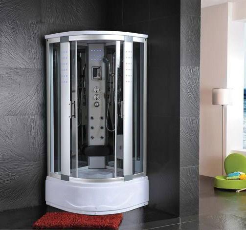 Dettagli su cabina idromassaggio 80x80 box doccia vasca - Box doccia su vasca bagno ...