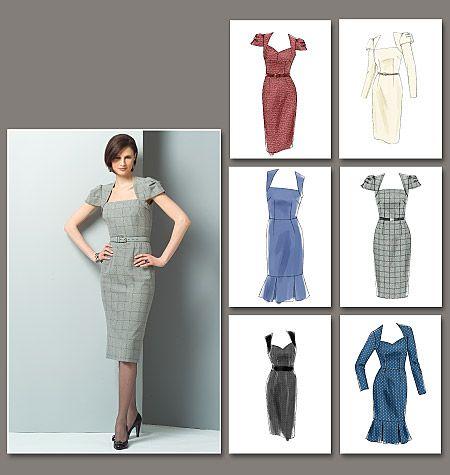 Vogue 8280 : patron de robe