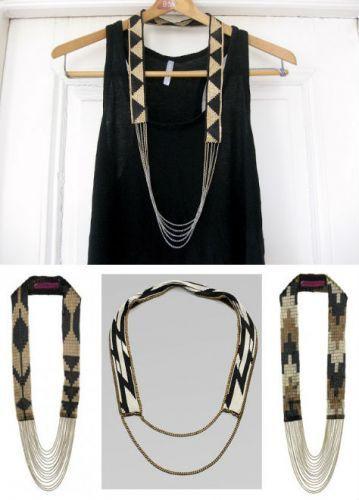 collier - tissage