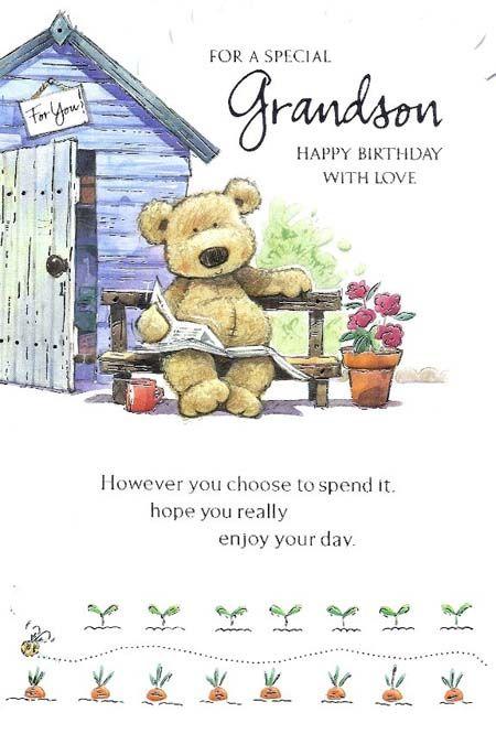 birthday wishes for grandchildren | Grandson Birthday Quotes Happy