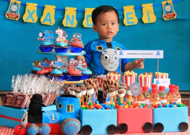 23 best Anthonys 2nd Birthday PartyTrain Themes images on