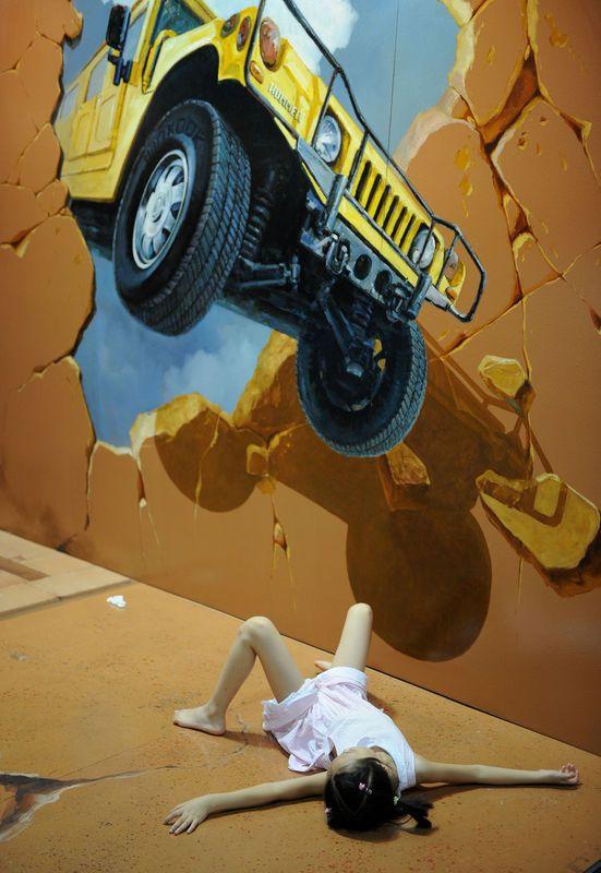 car crash #3D
