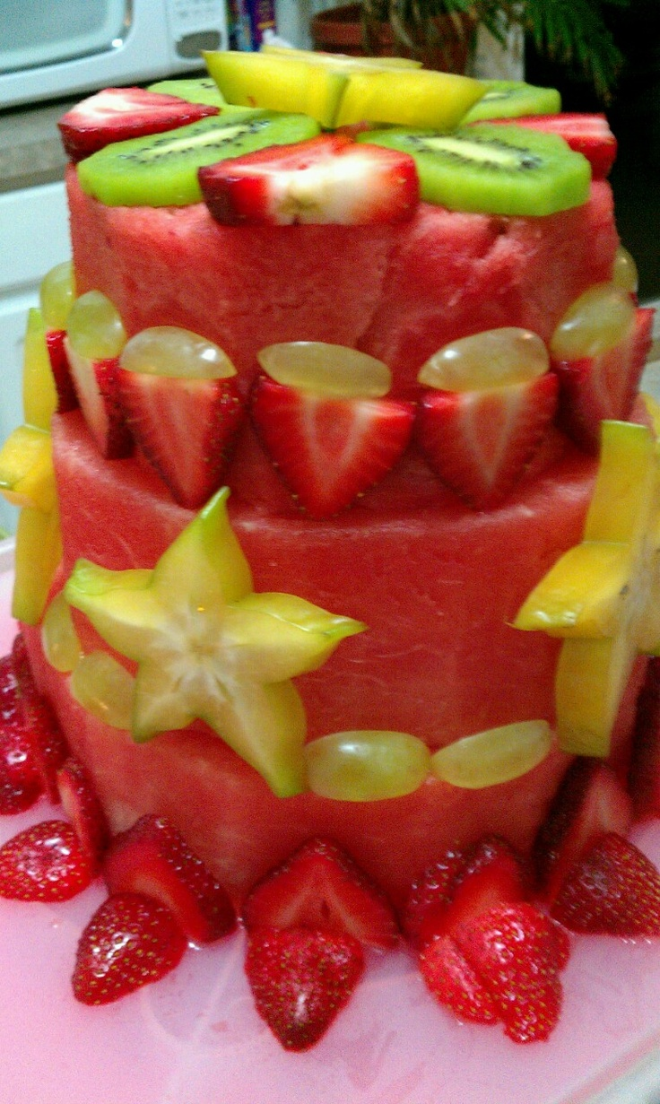 Cake With Fruit Pinterest : Fresh Fruit Cake Party Ideas Pinterest Fresh Fruit ...