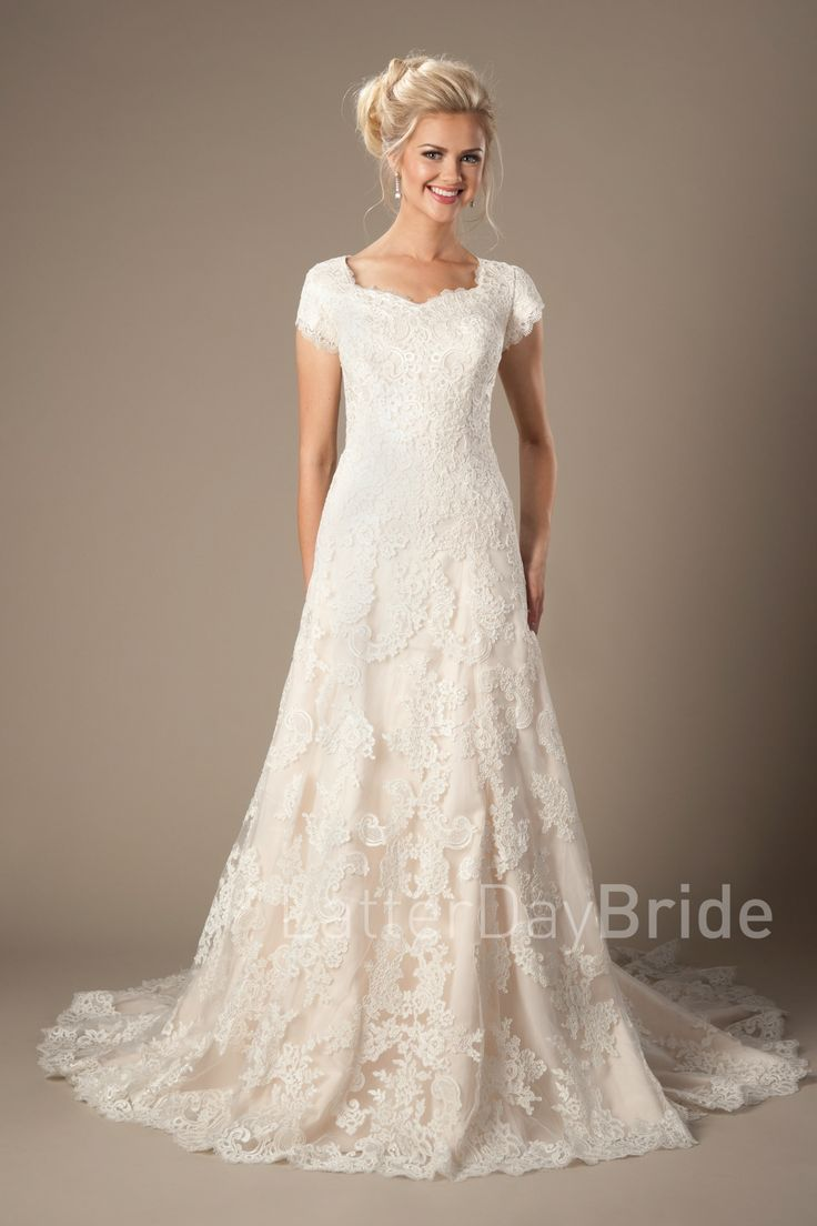 684 Best Images About Modest Lace Wedding Dresses On