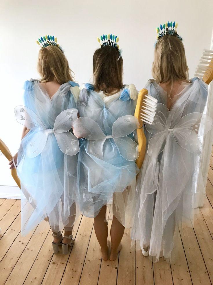 Zahnfee Kostüm selber machen Anleitung