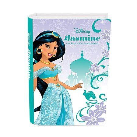 Μικροί Συλλέκτες - Disney Coins -Jasmin  Όλοι οι φαν της Disney θα αγαπήσουν αυτό το δώρο, που παρουσιάζεται σε μια παραμύθένια συσκευασία - βιβλίο.