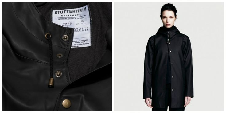 Arholma Black Rubber Raincoat for Women #RaincoatsForWomenCotton